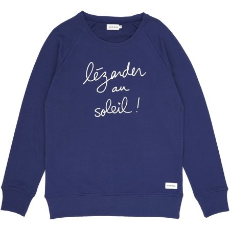sweat SLOGAN bleu
