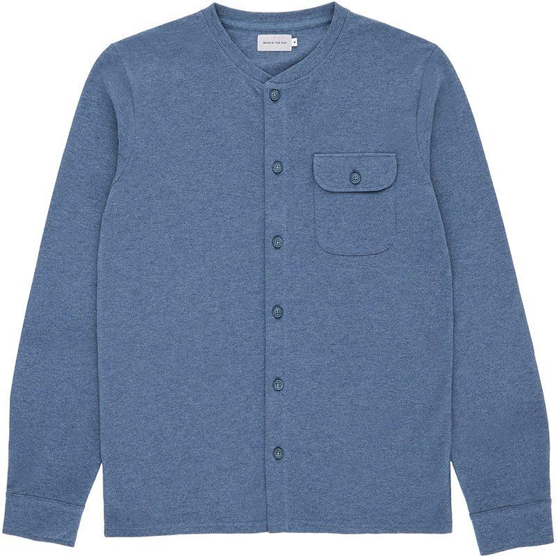 Chemise pour homme conçue à Guéthary au Pays Basque. Fabriqué au Portugal