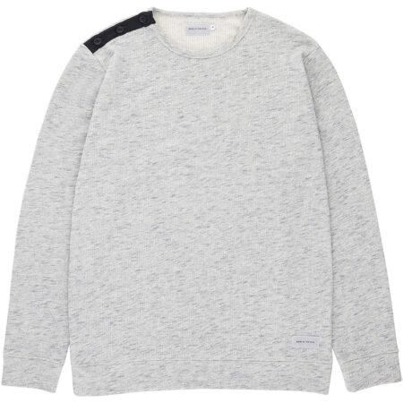 Sweatshirt pour homme conçu à Guéthary au Pays Basque. Fabriqué au Portugal
