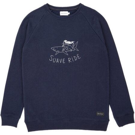 Sweatshirt en coton biologique (label Global Organic Textile Standard) avec un imprimé de l'artiste Da Coffee Time. Fabriqué au Portugal