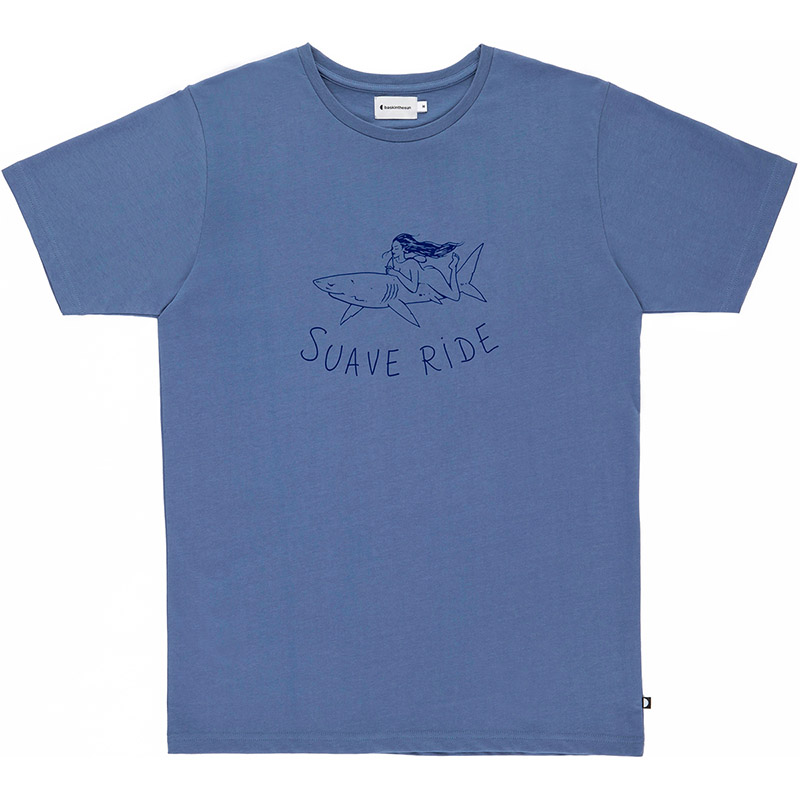 Tee suave ride bleu - Bask in the Sun
