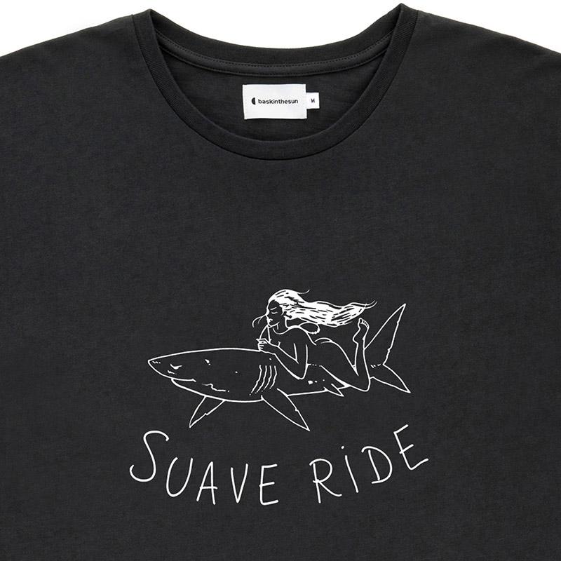 Tee suave ride noir - Bask in the Sun num 1