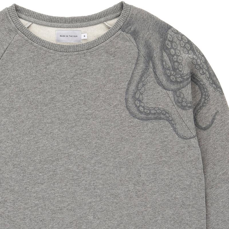 Sweat pieuvre gris - Bask in the Sun num 1